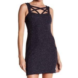 Eliza J women 12 dress sleeveless crisscross
